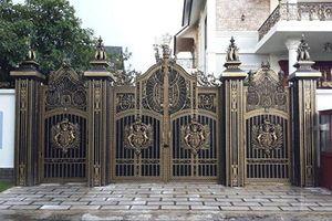 Mê mẩn 10 mẫu cổng biệt thự đẹp bề thế