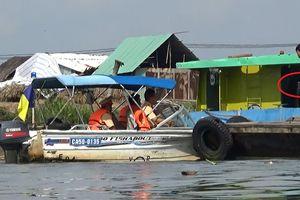CSGT 'kiểm tra' chớp nhoáng trên sông