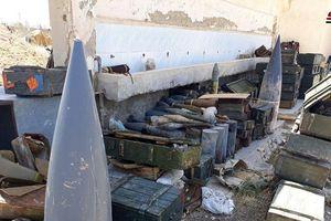 Syria: Bí mật trong lô vũ khí 'khủng' của khủng bố mới được phát hiện ở Idlib