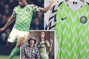 Đến Aubameyang cũng phát cuồng vì áo đấu của Nigeria