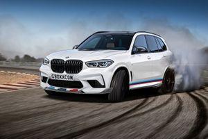 Hé lộ hình ảnh chiếc BMW X5 M 2019
