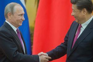 Tổng thống Nga tới Trung Quốc giữa lúc căng thẳng với phương Tây