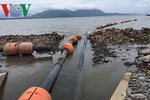 Đổ gần 1 triệu m3 bùn gây ô nhiễm khu vực cảng Chân Mây