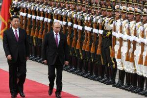 Tổng thống Nga Putin thăm cấp nhà nước tới Trung Quốc
