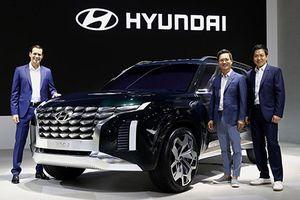 Hyundai chuẩn bị trình làng SUV cỡ lớn Grandmaster 8 chỗ ngồi