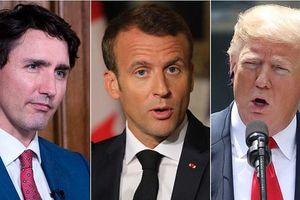 Tổng thống Pháp dọa loại Mỹ khỏi G7