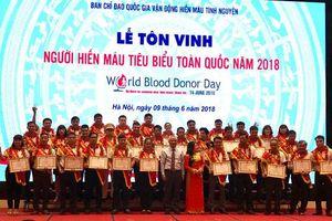 Gặp những người lập kỷ lục về số lần hiến máu