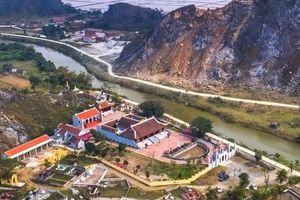 Di tích chùa Hàn Sơn bị đe dọa vì nổ mìn khai thác đá
