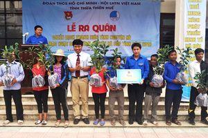 Huế: Ra quân chiến dịch thanh niên tình nguyện hè 2018