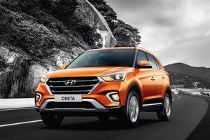 Tạm ngừng nhập khẩu về Việt Nam, Hyundai Creta 2018 đắt khách tại Ấn Độ