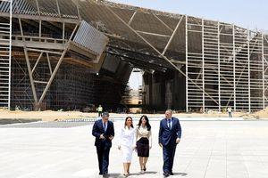 Ai Cập chuẩn bị khánh thành bảo tàng lớn nhất thế giới