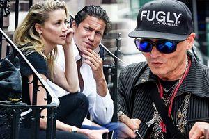 Vợ cũ vui vẻ bên tình mới trong khi Johnny Depp tiều tụy, sa sút