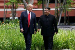 Tổng thống Donald Trump: 'Ông Kim là một nhà đàm phán xứng đáng và xứng tầm'