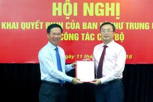 Ông Bùi Trường Giang được bổ nhiệm Phó trưởng Ban Tuyên giáo Trung ương