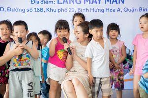 Đỗ Mỹ Linh làm đại sứ thương hiệu Qui Phúc, tham gia hoạt động nhân ái