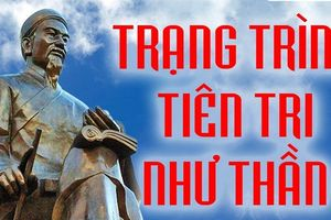Thấy bia mộ Trạng Trình Nguyễn Bỉnh Khiêm và hành xử lạ