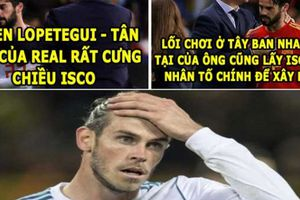 ẢNH CHẾ BÓNG ĐÁ (13.6): Tân HLV của Real 'trù dập' Ronaldo và Bale