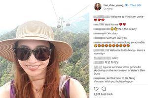 Sao phim 'Vườn sao băng', 'Trái tim mùa thu' khoe ảnh du lịch tại Đà Nẵng