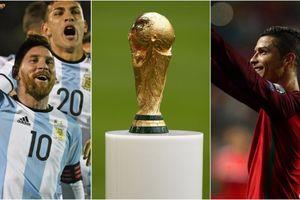 'Tiên tri' Mourinho đoán Ronaldo và Messi đấu chung kết World Cup 2018
