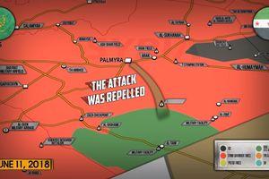 Nga yểm trợ quân đội Syria đánh tan nhiều cuộc tiến công của IS ở Deir Ezzor