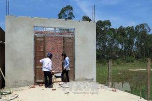 Dừng các trường hợp xây dựng trái phép tại cụm công nghiệp Phước Tân