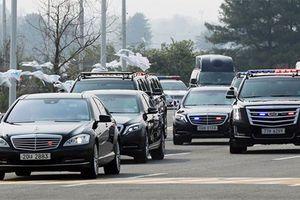 Điểm mặt xe sang chở các nguyên thủ quốc gia thế giới