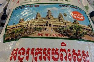 Campuchia phản đối gạo Angkor Wat của Thái Lan