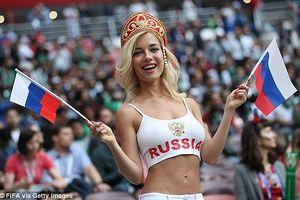 Nước Nga tưng bừng náo nhiệt khai hội World Cup 2018