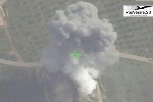 Nga 'chỉ đường' Syria tập kích hủy diệt trung tâm chỉ huy thánh chiến ở bắc Hama