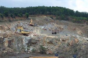 Cty TM & Khoáng sản miền Bắc xin thăm dò khai thác đá tại Vĩnh Phúc