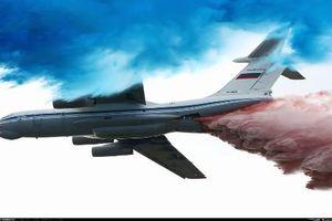 Mãn nhãn dàn máy bay Nga biểu diễn mừng quốc khánh