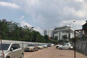Dự án bãi đỗ xe thông minh 'hô biến' thành bãi xe không phép