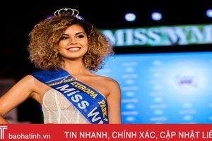 Người đẹp Bỉ đoạt vương miện Miss World Cup 2018