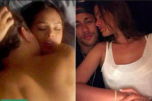 Đang dự World Cup 2018, Neymar không vui khi xem cảnh sex cực nóng của bạn gái ở quê nhà