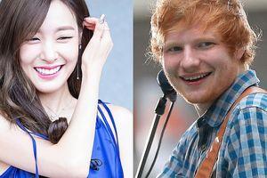 Tiffany SNSD kí hợp đồng với công ty quản lý của Sheeran và Jason Mraz