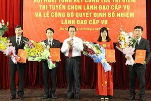 Bốn cán bộ TAND tối cao được bổ nhiệm lãnh đạo cấp vụ