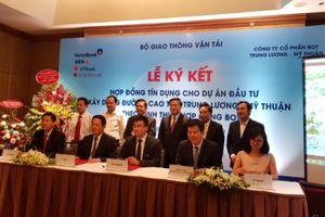 Dự án BOT cao tốc Trung Lương - Mỹ Thuận thu xếp xong 6.580 tỷ đồng vốn tín dụng