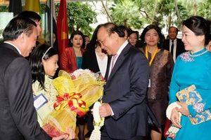 Thủ tướng bắt đầu chương trình HNCC ACMECS 8 và CLMV 9
