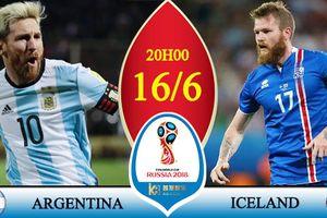 Kèo 'sáng' World Cup: Iceland có thể gây sốc Argentina