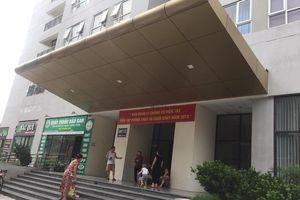 Báo động ô nhiễm từ ống xả rác của chung cư Bệnh viện 103