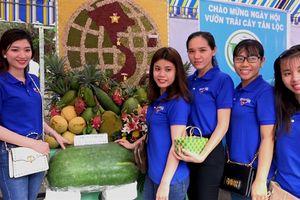 Cần Thơ: Nhiều trái cây lạ hội tụ về cồn Tân Lộc