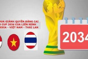 Việt Nam - Thái Lan – Indonesia đăng cai World Cup 2034?