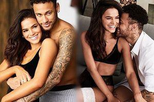 'Phát sốt' những khoảnh khắc ngọt lịm của Neymar và bạn gái