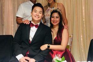 Con gái NSND Hồng Vân khoe clip ông xã nhảy cực điêu luyện trong đám cưới