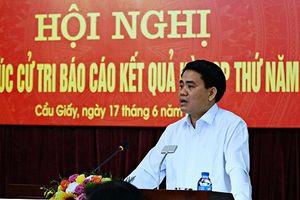 Chủ tịch Hà Nội cảnh báo tình trạng đưa thông tin giả để kích động dân