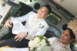 Con gái NSND Hồng Vân khoe clip chồng nhảy dễ thương trong đám cưới