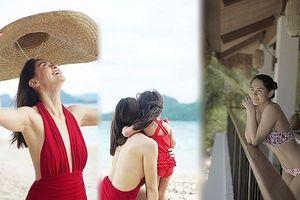 'Mỹ nhân đẹp nhất Philippines' gợi cảm đầy sức sống ở biển