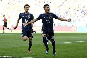 Nhật Bản hạ Colombia, lập chiến tích lịch sử ở World Cup 2018