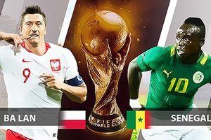 Xem bóng đá World Cup 2018 trực tiếp trận Ba Lan vs Senegal trên VTV6