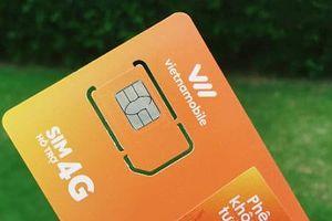 Vietnamobile cho phép thuê bao đổi SIM 3G sang 4G